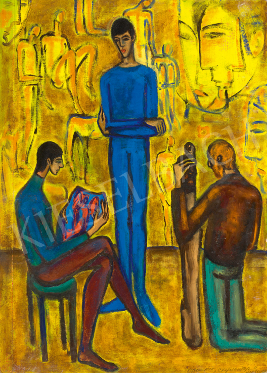 Eladó  Kazovszkij, El - Fiatal művészek, 1960-as évek vége festménye