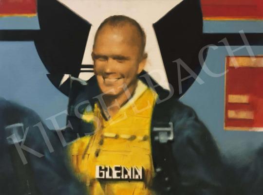 Eladó  Gyémánt László - Glenn, 1989 festménye