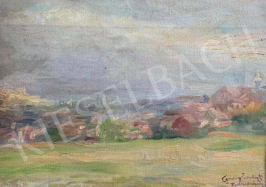 Eladó Egerváry Potemkin Ágost - Konstantinápoly festménye