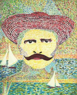 drMáriás - Rózsa Sándor in Georges Seurat's Atalier