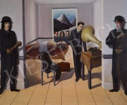 drMáriás - A kapitalizmus orvul meggyilkolja a kommunizmust Magritte műtermében