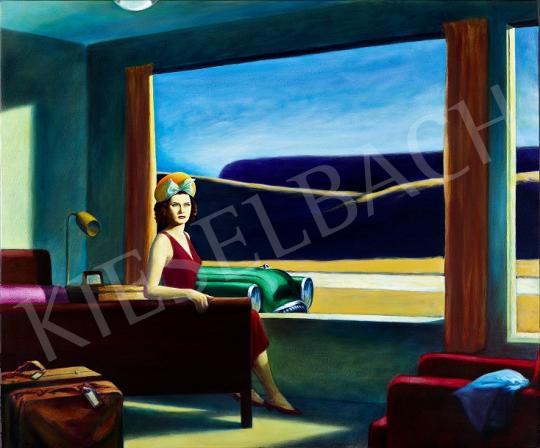 For sale  drMáriás - Katalin Karády in Edward Hopper's Atelier 's painting