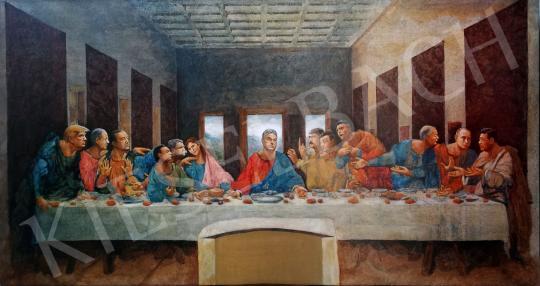 For sale  drMáriás - The last dinner before the epidemic in Leonardo's studio 's painting