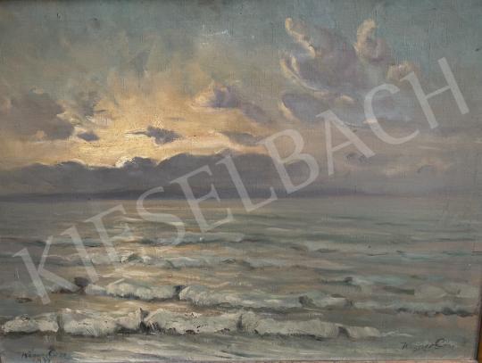 Eladó Wágner Géza - Vihar után kisütő nap (Balaton), 1933 festménye
