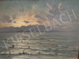 Wágner Géza - Vihar után kisütő nap (Balaton), 1933