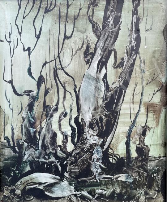 Eladó  Ruttka Ferenc - Lobogás, 1977 festménye