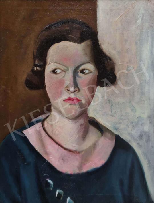 Eladó  Kacziány Regner Auguszta - Fiatal lány, 1933 festménye
