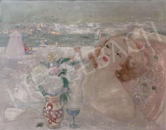 Eladó Jancsek Antal - Tengerparti emlék festménye