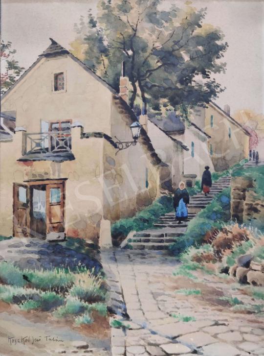 Eladó Koszkol Jenő - Tabáni utca festménye