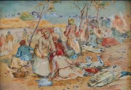 Deák-Ébner Lajos - Szolnoki piac