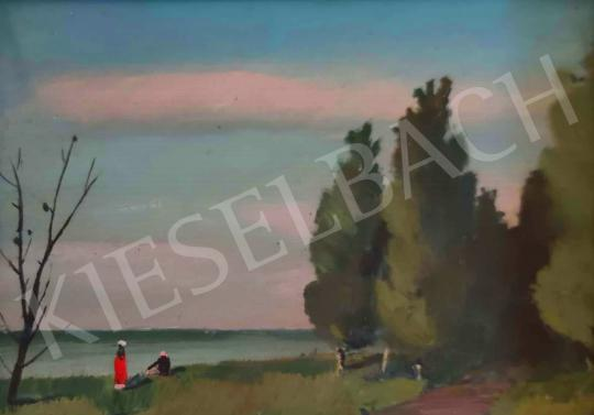 For sale sr. Benedek, Jenő - On the Waterfront 's painting