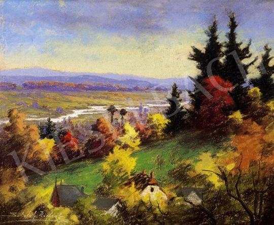 Sztelek Norbert - Zazar-part ősszel | 6. Aukció aukció / 302 tétel