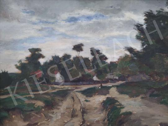 Eladó Vass Elemér - Vízparti tanya festménye