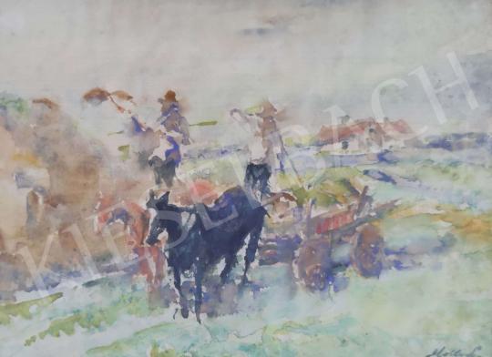 For sale  Holló, László - Afield 's painting