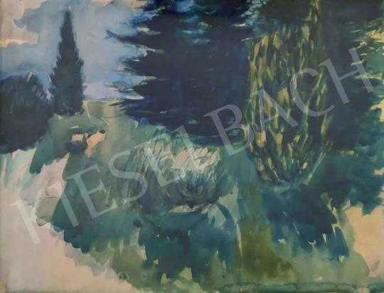 Eladó  Bernáth Aurél - Parkrészlet festménye