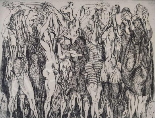 Eladó  Hincz Gyula - Siratók  festménye