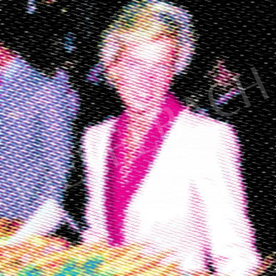 Eladó  Weiler Péter - Diana a Vásárcsarnokban, 2021 festménye