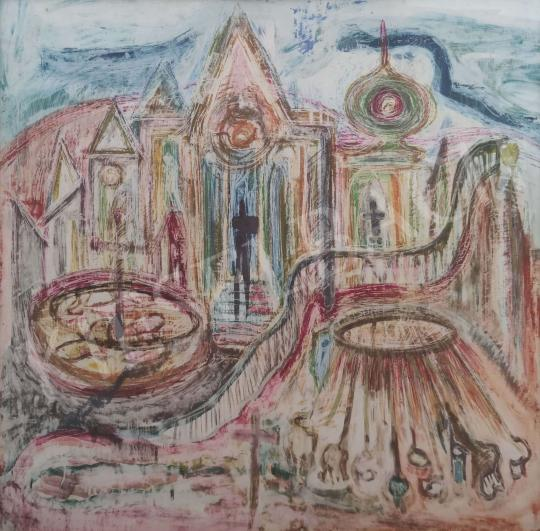 Eladó  Mersits Piroska - Vidámpark festménye