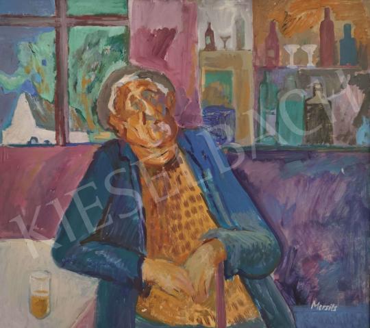 Eladó  Mersits Piroska - Büfé festménye