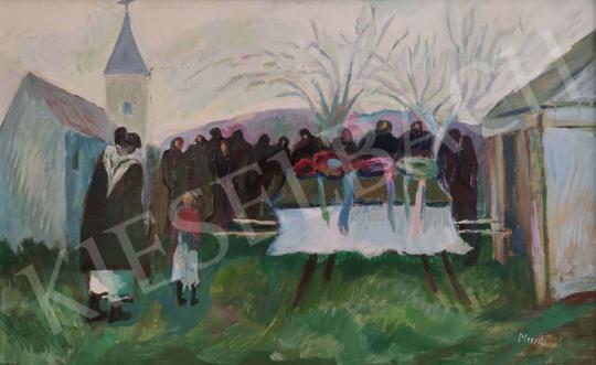 Eladó  Mersits Piroska - Búcsú festménye