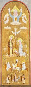 Pekáry István - Szentháromság (Áldás), 1933 | 65. Aukció aukció / 1 tétel