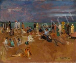 Basch, Andor - French Seashore (Cabourg), 1925