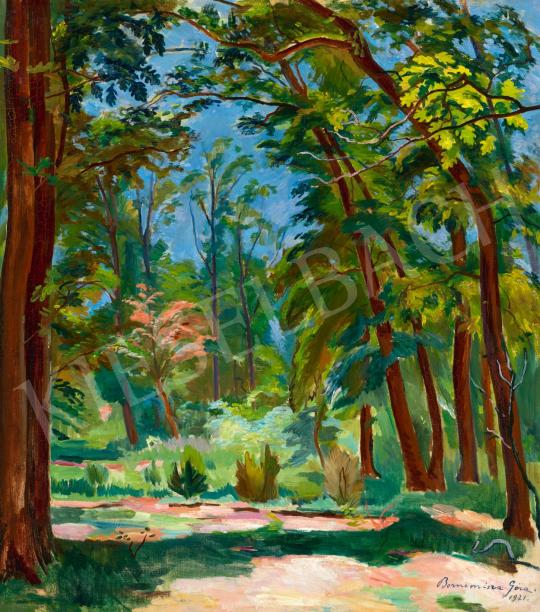 Bornemisza Géza - Park (Nyári fények), 1921 | 65. Aukció aukció / 16 tétel
