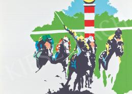 Pecsenke, József - Horse Racing, 1985