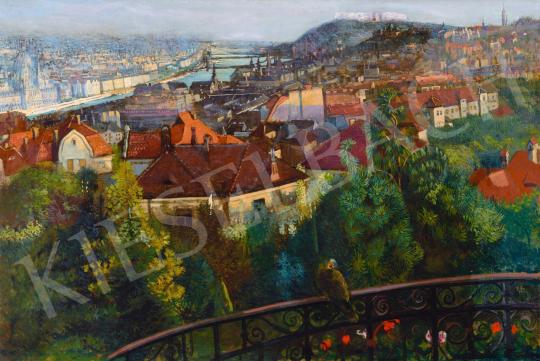 Nagy Sándor - Budapest látképe, 1916 | 65. Aukció aukció / 23 tétel