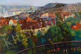 Nagy, Sándor - View of Budapest, 1916