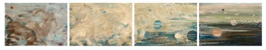 Gyarmathy Tihamér - Fokozódó sebesség  I-IV., 1951 | 65. Aukció aukció / 36 tétel