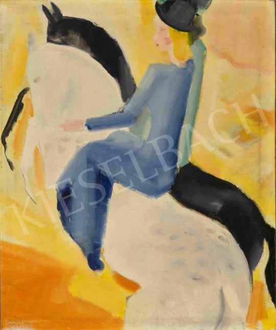 Barzó Endre - Lovasok, 1930 | 65. Aukció aukció / 38 tétel