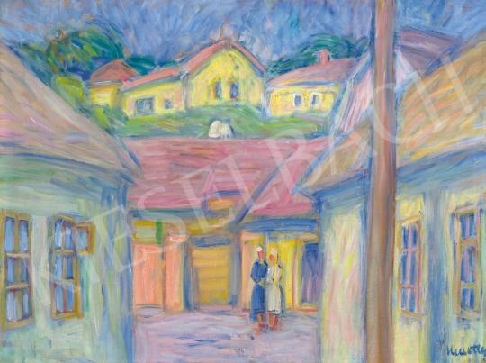 Kmetty János -  Szentendrei utcarészlet, 1940 | 65. Aukció aukció / 42 tétel