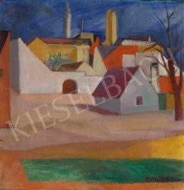 Modok, Mária (Czóbel Béláné) - Houses in Szentendre, c.1930