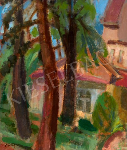 Berény Róbert - Zebegényi kert   65. Aukció aukció / 50 tétel