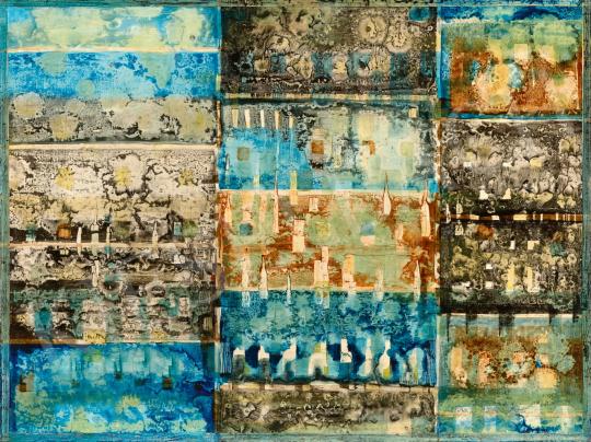 Gyarmathy Tihamér - Kompozíció, 1964 | 65. Aukció aukció / 56 tétel