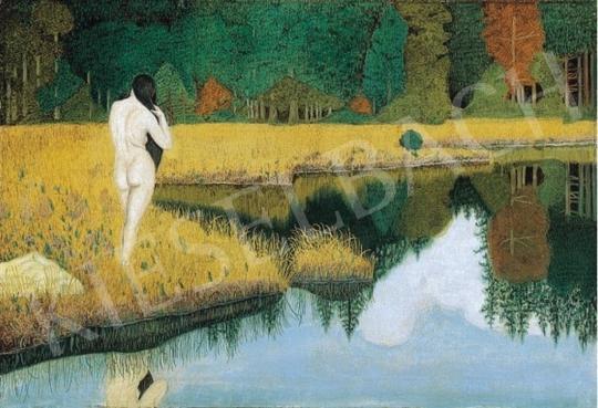Ismeretlen festő - Fürdőzés   6. Aukció aukció / 314 tétel