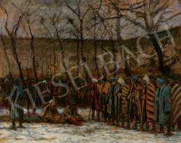 Mednyánszky László - Hadifoglyok Karácsonya, 1915 körül