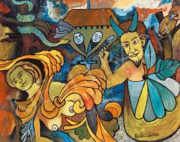 Balázs János - Mitológiai jelenet