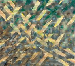 Gyarmathy Tihamér - Halmazban mozgás struktúrája, 1978