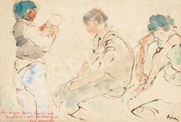 Rippl-Rónai József - Alakok, 1922