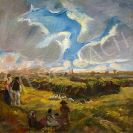 Iványi Grünwald, Béla - Clouds over the Great Plain