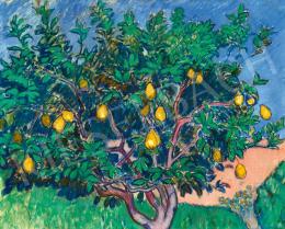 Iványi Grünwald, Béla - Pear Tree (Study of Spring), c.1909