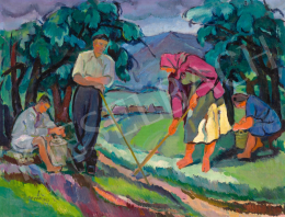 Erdélyi Béla - Kárpátalján, 1947