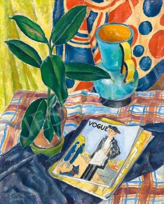Lévay Lajos - Art deco csendélet Vogue magazinnal, 1930-as évek | 65. Aukció aukció / 7 tétel