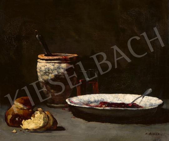 Ribot, Théodule-Augustin - Cserépedények (Lekvár és kalács) | 65. Aukció aukció / 24 tétel