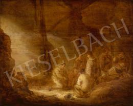 Cuyp, Benjamin Gerritsz - Kockázó katonák, 1635