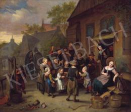 Brakenburgh, Richard - Pünkösdi virágünnep, 1680 körül
