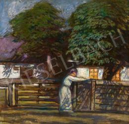Horthy Béla - Csillagfényes este (Gesztenyefák az esti kertben)