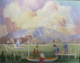 Pleidell János - Balaton vitorlással, 1987